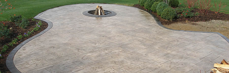 Michigan Stamped Concrete Decorative Cement And Acid